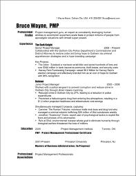 project manager resume sample   batmanproject manager resume sample