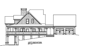 Open Floor Plan   Wrap Around Porch   Banner Elk IImountain house plan   wraparound porch and loft