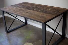 dining table metal tables solid