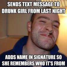 sends text message to drunk girl from last night adds name in ... via Relatably.com