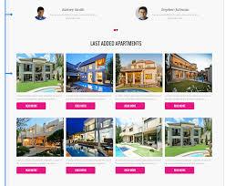 vacation joomla real estate template  last added properties of real estate joomla 3 5 template vacation
