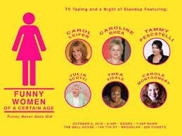<b>Funny Women</b> of a Certain Age - The Bell House - October 6th, <b>2019</b>