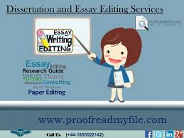 Dissertation and essay editing services online