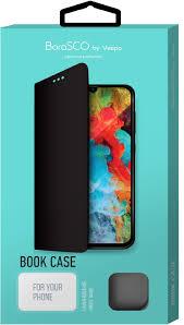Чехол BoraSCO by Vespa <b>Book Case для Xiaomi</b> Mi 9 Lite, черный ...