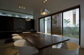 Wall Mirror For Dining Room Square Dark Brown Wooden Dining Table Black Wood Cabinet Glass