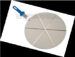 <b>Поднос</b> круглый <b>d</b>=<b>45см</b>. для пиццы на 8 сегментов с GI.METAL ...