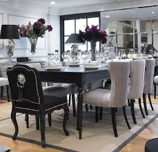 black kitchen dining sets:  ideas about black dining chairs on pinterest reproduction furniture dining chairs and leather dining chairs
