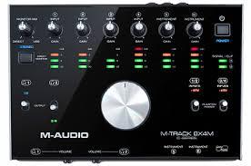 Купить <b>Аудио интерфейс M-AUDIO M-TRACK 8X4M</b> с бесплатной ...