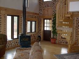 Cordwood oval home   metal roof   House Office Ideas and Plans    Cordwood oval home   metal roof   House Office Ideas and Plans   Pinterest   Side Porch  Porch Designs and Metal Roof