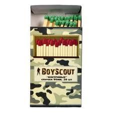 <b>Спички Boyscout</b> Костровые 90мм (30шт) купить с доставкой в ...