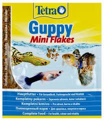 Купить <b>Корм</b> для рыб <b>Tetra Guppy</b> Flakes мини-хлопья для группи ...