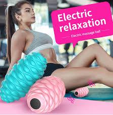 MDY <b>Electric Massage</b> Ball Muscle <b>Fascia Fitness</b> Yoga Relaxing ...