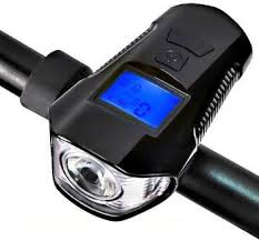 Udee <b>Bicycle Lights</b> 3 in 1 Waterproof Front Light with Horn <b>Cycle</b> ...