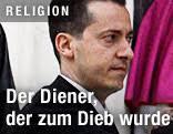 Päpstlichen Kammerdiener Paolo Gabriele - llink_religion_vatilieaks_gabriele_schirm_d.2175115