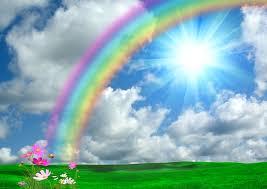 Resultado de imagen de arco iris REAL
