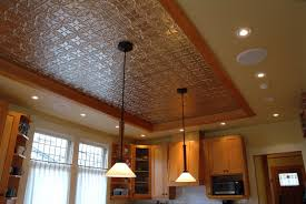 Ceiling Tiles For Kitchen Pressed Tin Ceiling Google Search Recessed Over A Dining Room