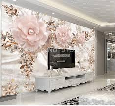 Custom Photo <b>Wallpaper</b> 3D Luxury <b>European Style</b> Swan Jewelry ...