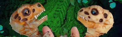 WowWee Fingerlings: интерактивные скелеты динозавров!