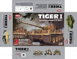Комплект для сборки <b>радиоуправляемого танка Taigen German</b> ...
