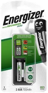 Купить <b>зарядное устройство Energizer Mini</b> Charger + 2xAAA ...