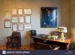 early 20th century office in casa mila by antoni gaudi barcelona spain century office