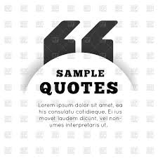 quote template on white background vector image rfclipart quote template on white background click to zoom