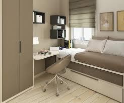 bedroom idyllic teenage narrow bedroom ideas show comfortable single bed beside modern white wooden study affordable minimalist study room design