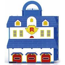 Купить <b>кейс</b> Silverlit <b>Robocar Poli</b> для хранения Парковка с ...