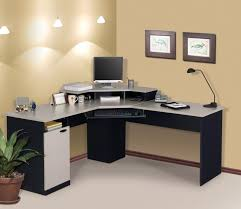 furniture green ornamental plants perfect best desk cool design home office on corner all white and black desk white home office