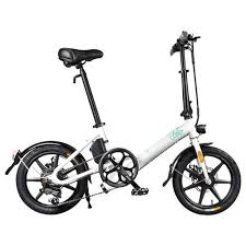 <b>FIIDO D3S Folding Moped</b> Electric Bike Gear Shifting Version City ...