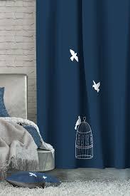 "<b>Штора Волшебная ночь</b> ""<b>Dove</b>"", на ленте, цвет: синий, высота ..."