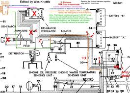 m38a1 jeep wiring diagram m38a1 wiring diagrams willys m jeeps forums viewtopic alternator conversion