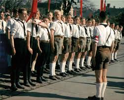 self discipline and moral health national vanguard hitler youth at attention