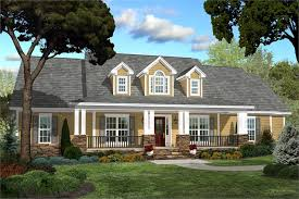 Country Craftsman Small  bedroom House Plan   Home Plan        middot  Color rendering of House Plan