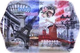"<b>Поднос</b> сервировочный <b>Gift'n'Home</b> ""Парижские фантазии"", 20,8 ..."