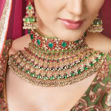 اكسسوارات العروس الهندية images?q=tbn:ANd9GcR