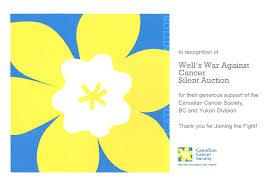 letter of recognition from the canadian cancer society the we