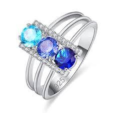 Купить <b>кольцо с топазом</b> и <b>сапфиром</b> от 259 руб— бесплатная ...
