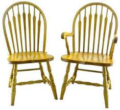 home office furniture amazoncom solid wood windsor arrow back chair set of 2 oak arrow office furniture