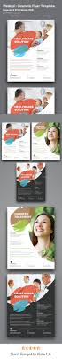 best images about creative design templates medical flyer