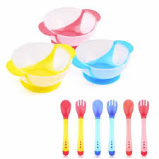 <b>Children Baby Bamboo Tableware</b> Solid Feeding Dishes Baby Bowl ...