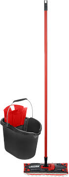 <b>Набор для уборки</b> Vileda UltraMax, красный, черный, 2 предмета ...