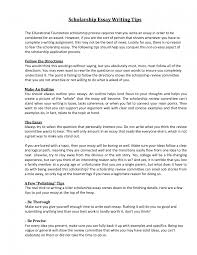 Scholarship Essay Writing Service How To Write A Good English