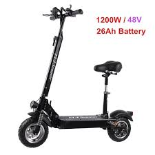 €817 with coupon for <b>FLJ C11 1200W 10inch</b> wheel Electric Scooter ...