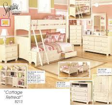 ashley furniture signature design series b213 twin full bunkbed ashley unique furniture bunk beds