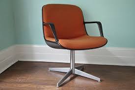 image of mid century modern desk chair without wheels chair mid century office
