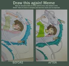 Draw This Again Meme - Spirited Away by Teddywangdoodle on DeviantArt via Relatably.com