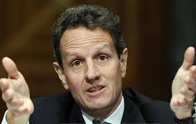 Timothy Geithner: US Treasury Secretary Timothy Geithner says world should be. US Treasury Secretary Timothy Geithner Photo: AP - TimothyGeithner_1391365c