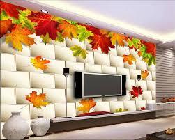 Online Shop <b>Beibehang papel de parede</b> 3d Custom mural autumn ...