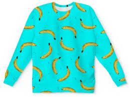 "Детский свитшот унисекс ""<b>Бананы</b> на голубом"" #2828443 от Zoya ..."